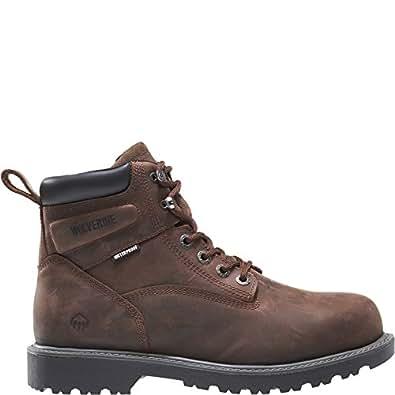 4d67c309766 Wolverine Men's Floorhand 6 Inch Waterproof Steel Toe Work Shoe