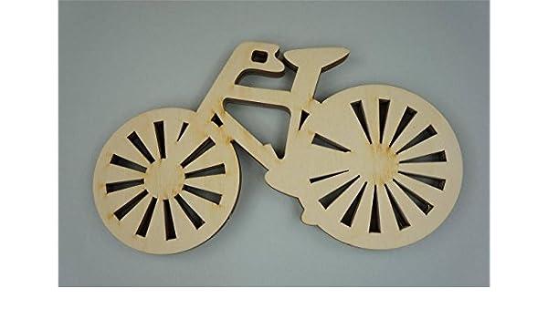 3 x adorno bicicleta de madera para niños decoración de la ...