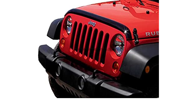 Jeep Wrangler Deflector de aire en la parte frontal: Amazon.es ...