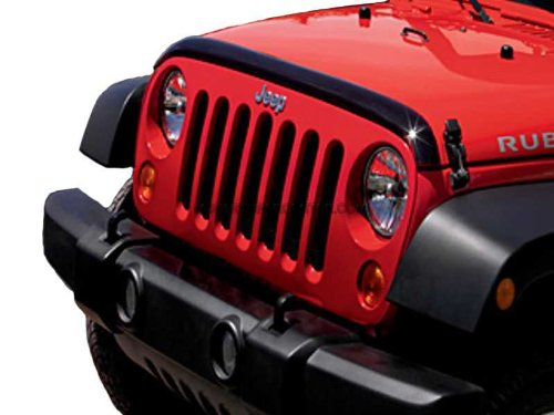 Jeep Wrangler Deflector de aire en la parte frontal: Amazon.es: Coche y moto