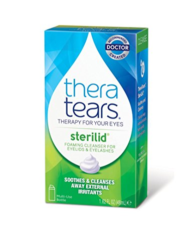 TheraTears Sterilid Eyelid Cleanser- 1.62FL OZ (48 mL)