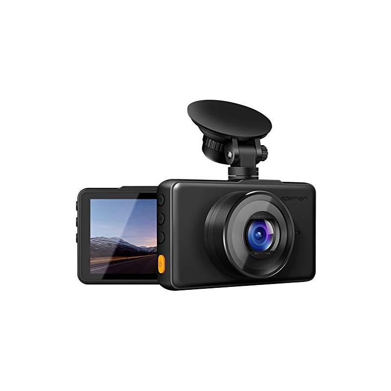 APEMAN Dash Cam 1080P FHD DVR Car Drivin