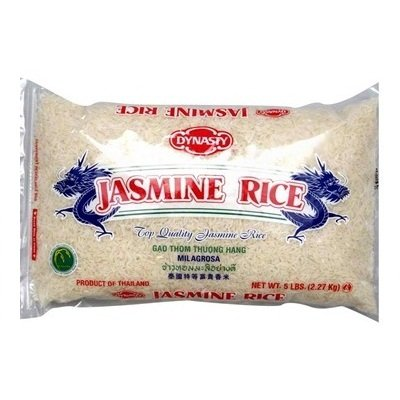 Dynasty Jasmine Rice 18x 5LB by DYNASTY
