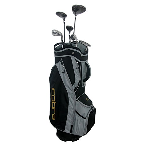 Cobra Flyz S Men's 8Pc Right Hand Lite Flex Complete Set, Black -  CobraGolf, 6407RGACS8