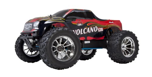 Redcat Racing Nitro 2.4GHz Volcano S30 Truck, 1/10 Scale, Red - Trucks Nitro Remote Control