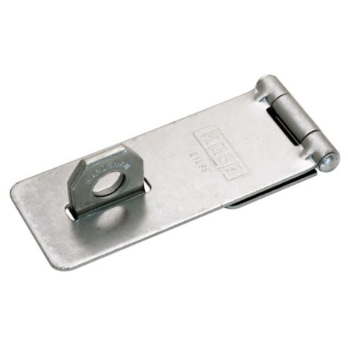 95 mm Kasp K21095D Traditional Hasp /& Staple-95mm