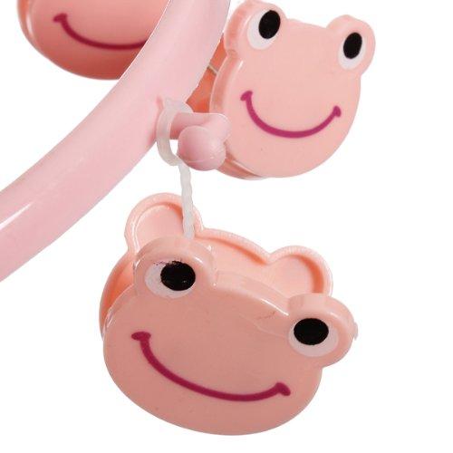 delicate 8pcs Cute Cartoon Frog Plastic Clothes Peg Clip Hanger