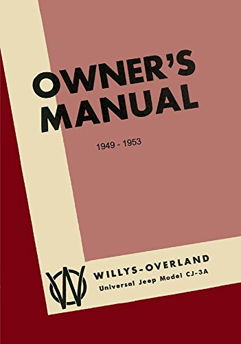 bishko automotive literature 1949 1950 1951 1952 1953 Jeep Cj Owners Manual User Guide Operator Book Fuses - Jeep Cj Owners Manual