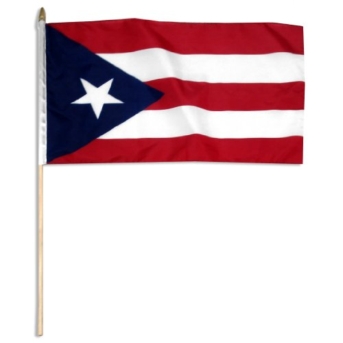 US Flag Store Puerto Rico Flag, 12 by 18-Inch