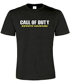 call of duty tees - Camiseta de manga corta unisex personalizable (4 unidades)