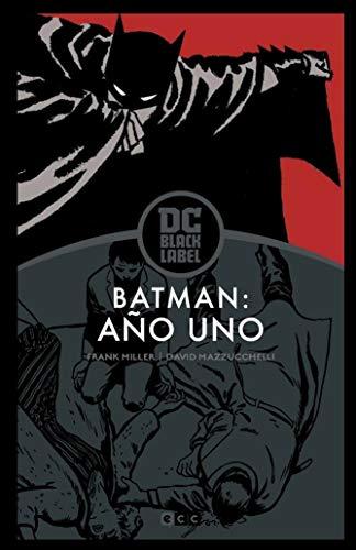 Batman: Año uno– Edición DC Black Label por Frank Miller,David Mazzucchelli,Tobar Pastor, Felip