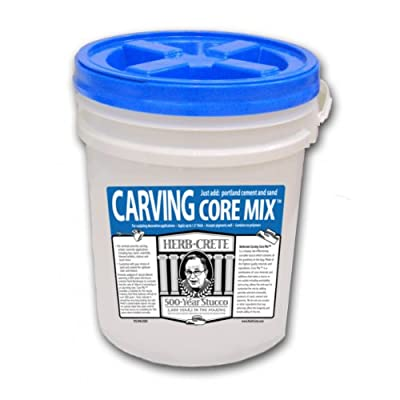 Carving Core Mix Bucket Mixing Kit by HerbCrete