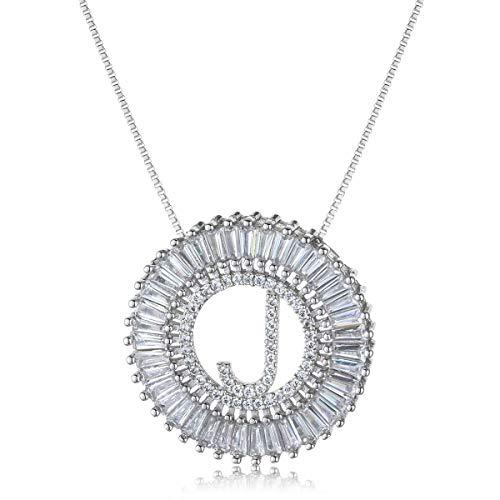 - COTTVOTT A-Z Alphabet Pendant Necklaces Charms Women Initial Letter Chain Necklace 4 Colors