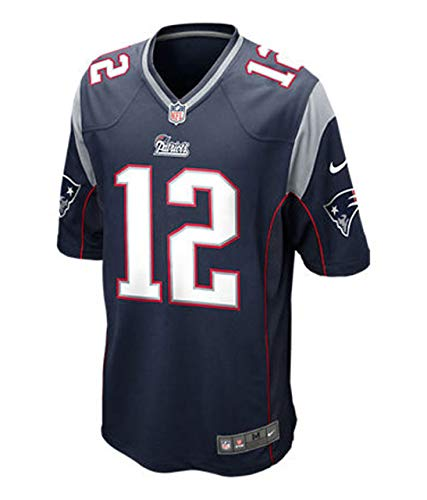 Tom Brady New England Patriots Youth Nike Game Navy Jersey (Youth X-Large -