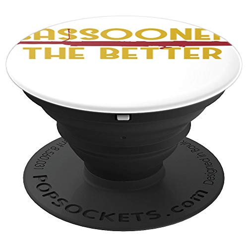 Retro Bassoon T-Shirt For Bassoonist Band Orchestra Woodwind PopSockets Grip and Stand for Phones and Tablets
