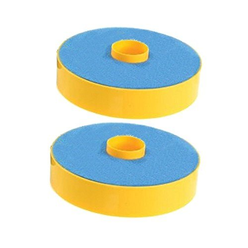 SHP-ZONE 2 Primary Washable Blue Foam Filters for Dyson DC07 Carpet Vacuum Cleaner , Generic For Dyson Part 904979-02. 2 Pack