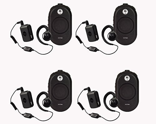 4 Pack of Motorola CLP1060 Business Two-Way Radio with Bluetooth 6 Channel 1 Watt by Motorola