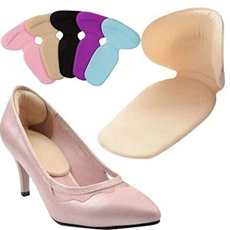 fdd7c18107e68 GreenCoves 1 Pair Soft Silicone High Heel Cushion Shoe Insert Dance ...
