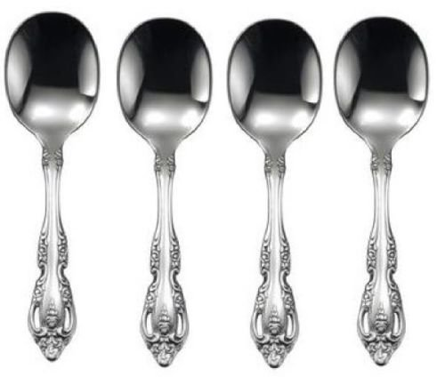 Oneida Brahms 4 Baby Spoons - 18/8 Stainless