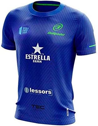 Bullpadel Camiseta TANOS Maxi Sanchez Azul