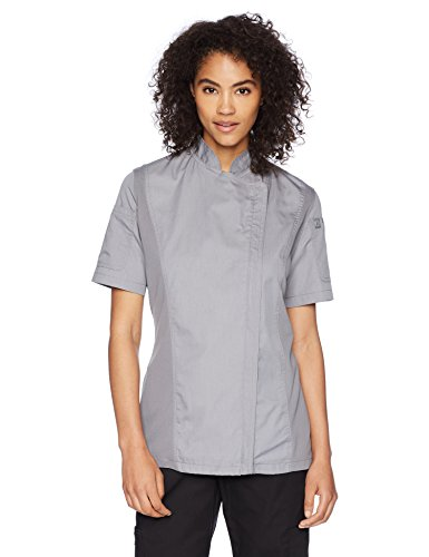 Chef Works Women's Springfield Chef Coat, Gray, Small