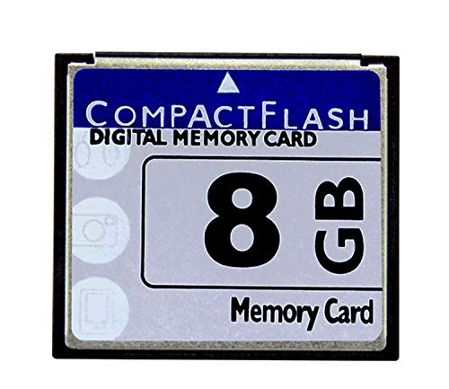 - Bodawei Original 8GB CompactFlash Memory Card High Speed 133x (TS8GCF133) Industrial Compact Flash Card for Canon Camera Cards