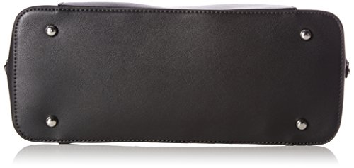 L.Credi - Tivoli, Shoppers y bolsos de hombro Mujer, Schwarz (Schwarz/combi), 14x25x33 cm (B x H T)