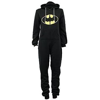 bed41ae10aea4 N   A Combinaison Grenouillère Femme Batman Tout-En-Un Eté Capuche Super-