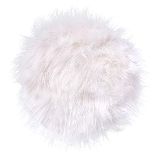 Weiweidian Soft Fur Sheepskin Seat Cushion Chair Cover Carpets Fluffy Shaggy Area Rugs for Bedroom Living Room Home Decor Super Soft Mat from Weiweidian