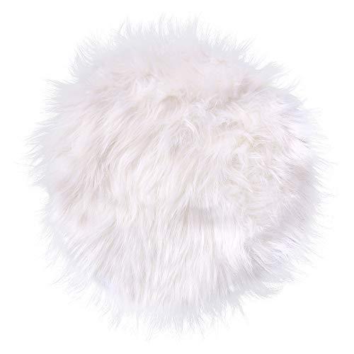 Xshuai Super Soft Fluffy Shaggy Faux Sheepskin Rug Chair Cover Artificial Wool Warm...