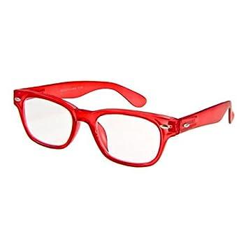 b3d0d3be415 Amazon.com  I NEED YOU Designer Woody Red Reading Glasses Prescription  Eyeglasses For Men   Women Spring Hinge And Plastic Eyeglasses Power Glass  With ...