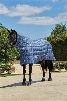 Weatherbeeta Weatherbeeta Weatherbeeta Comfitec PP Channel Quilt Combo Heavy, Navy Lime ed2210