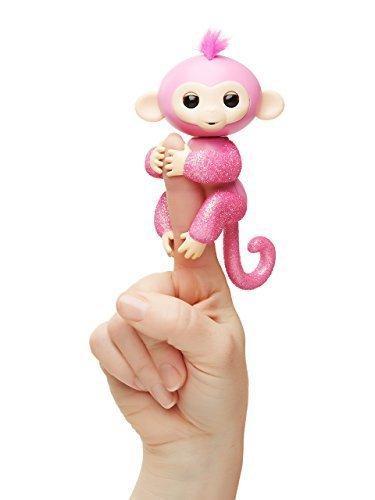 Fingerlings Glitter Monkey - Rose - Pink Glitter