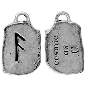 as rune charm for cosmic talisman amulet pendant