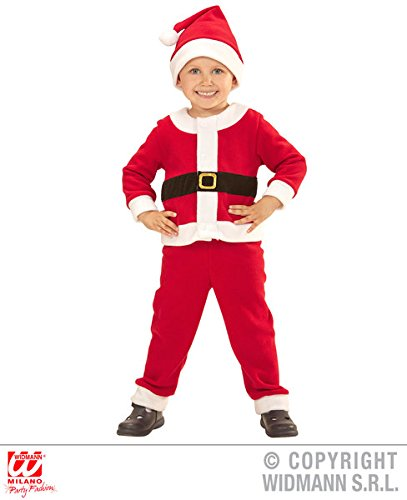 Childs kids Santa Boy Father Christmas Fancy Dress Costume Outfit