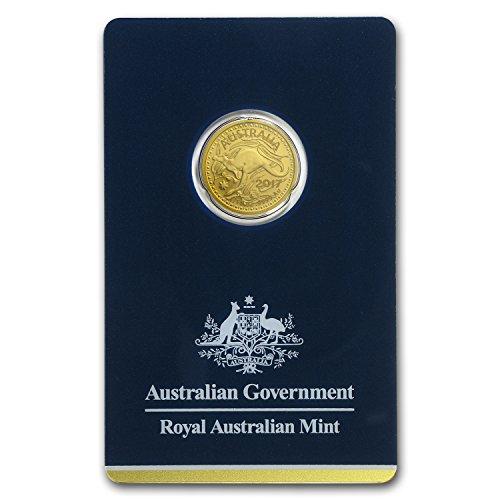 2017 AU Australia 1/10 oz Gold RAM Kangaroo (In Assay) Gold Brilliant Uncirculated