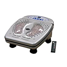 iComfort IC0907 Infrared Vibration Foot Massager, Includes Wireless Remote Control, Silver by iComfort