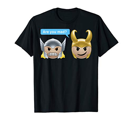 Marvel Thor Loki Are You Made? Emoji Graphic T-Shirt
