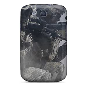 TmallCase Snap On Hard Case Cover Two Shooting Soldiers Protector For Galaxy S3