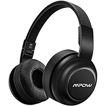 Mpow H2 [Upgrade] Bluetooth Headphones w/ 4 Equalizer Modes, Both Wired & Wireless Headphones On Ear, HiFi EQ Headphones Bluetooth Headset with Mic for ...