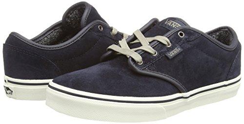 VansY ATWOOD - Zapatillas Niños^Niñas azul - Blau ((MTE) blue graphite/marshmallow)