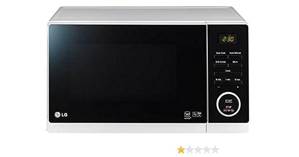 LG MH6353HPS - Microondas sencillos, 23 l, 1200 W, color blanco ...
