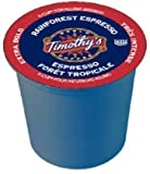 Timothy's World Coffee K-Cup Portion Pack for