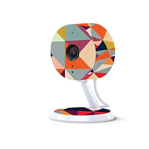 MightySkins Skin for Amazon Cloud Cam - Bright and Happy | Protective, Durable, and Unique Vinyl Decal wrap Cover | Easy to Apply, Remove, and Change Styles | Made in The USA