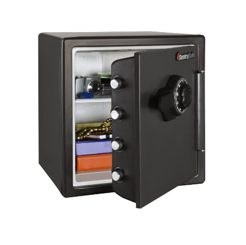 how to open a new sentry safe