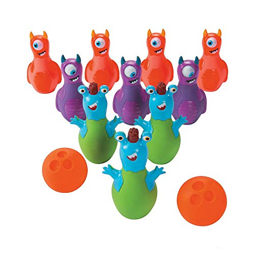 Halloween Monster Bowling Games Accessories
