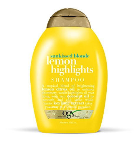 Blonde Highlights (OGX Shampoo, Sunkissed Blonde Lemon Highlights, 13)