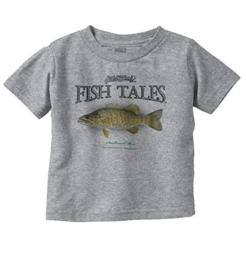 (Smallmouth Bass Fish Funny Cool Fishing Infant Toddler T)