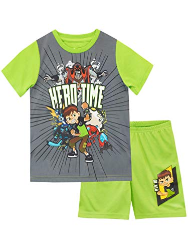 Ben 10 Boys Pajamas Green Size 6