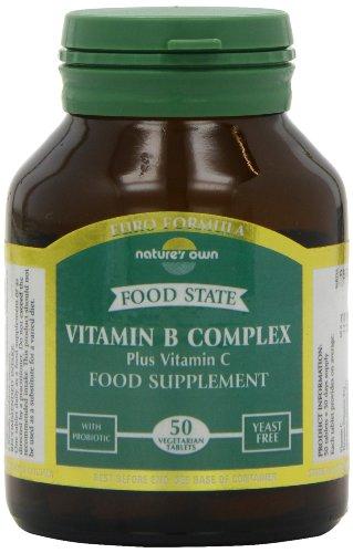 Natures Own Vitamin B Complex + Vit C